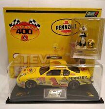 NASCAR Monte Carlo 400 -Steve Park - Looney Tunes 2001 Pennzoil Revell Box & COA
