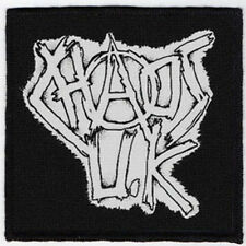 CHAOS UK PATCH / SPEED-THRASH-BLACK-DEATH METAL