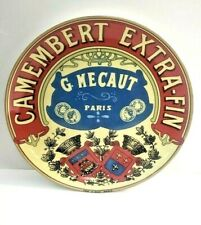 Camembert Extra-Fin Baker G. Mercaut Box Ceramic Red Paris Cordon Bleu BIA