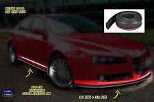 Paraurti Alfa 156 tuning gomma protezione universale auto spoiler kit nero per