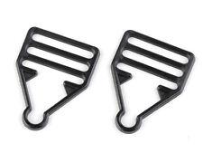 1 pair (2pcs) of Plastic Dungaree Clips Fastener in Black Suspender Overall Clip