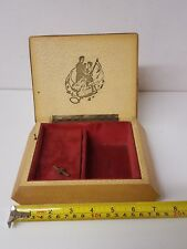 Rear Reuge STE CROIX Swiss Ballerina Music Jewellery Box Genuine Collectables