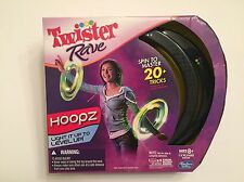 "TWISTER RAVE 10"" HOOPZ - Hoops Light Up When You Spin Them 2 Per PACK"