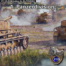 Blitzkrieg Addon 1. División Panzer
