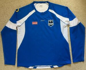 #04 Authentic NRL Rugby League Premiership Long Sleeve Shirt Mens Size XL ASICS