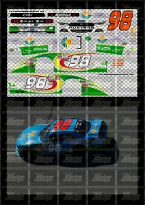 NASCAR 1/24 DECALS AA03 - ARIC ALMIROLA 2017 NXS #98 FRESH FROM FLORIDA