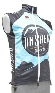 Pactimo Tin Shed Thermal Wind Vest Men SMALL LARGE XL Black Road Bike Gravel MTB