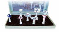 Signaux Routiers Boîte 8 Traffic Signs 1:43 Model Norev