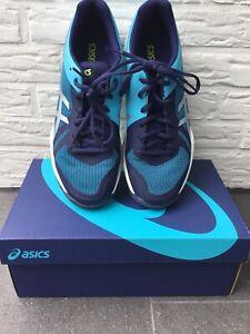 Asics Turnschuhe Hallenschuhe Schuhe Gr. 40,5 Gel-Tactic blau 2x getragen NEUWER