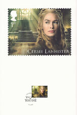 (74210) GB FDC Game of Thrones Souvenir Print 23 Jan 2018 LIMITED EDITION 10000