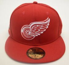 NEW! Men's NHL Detroit Red Wings Tribute Turn Fitted 59FIFTY 7 1/2 New Era Cap