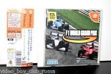 F1 WORLD GRAND PRIX GIOCO USATO OTTIMO STATO SEGA DREAMCAST EDIZIONE GIAPPONESE