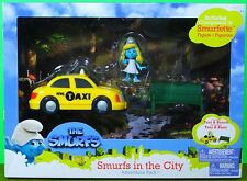Smurf Smurfs In The City Adventure Pack With Smurfette in the City w/Taxi