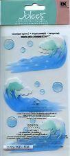 "Jolee's Boutique ""WAVES"" Dimensional Scrapbooking Sticker F-147"