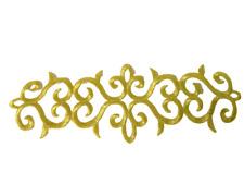 1 x Lurex Silber Applikationen Patch Medieval?Renaissance?