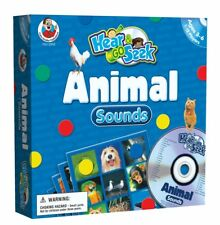 Frank Schaffer Carson-Dellosa Hear & Go Seek Animal Sounds Educational Game NEW