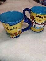 Los Angeles San Francisco SNCO Luke A Tuke Collectors Mugs
