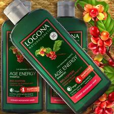 Logona Age Energy Shampoo Bio-Coffein 250ml Naturkosmetik Aufbau silikonfrei