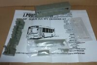 Un built resin bus kit by Jim Poots. 1/76th scale Volvo / Wright Dublin WV class