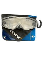 Aqua Sphere Kaiman Small Fit Swimming Goggles Transparent Made in Italy NEW