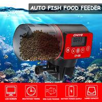 Automatic Auto Digital LCD Fish Food Feeder Timer For Aquarium Tank Pond  !!