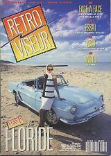 RETROVISEUR n°33 05/1991 RENAULT FLORIDE TRIUMPH BULLET ALFA 6C 1750 FIAT 508S