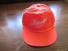 vintage trucker hat  PUYALLUP FAIR STAFF COWABUNGA! Do the '90 Puyallup  Orange