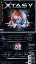 Xtasy - Second chance +2 (2017) Japan CD+obi, Erik Mårtensson, Vixen, Lee Aaron