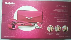 BaByliss 2663GU Curl Secret Simplicity Hair Styling Natural Curls Style Pink Set