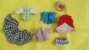 VINTAGE PALITOY PIPPA / DAWN DOLL CLOTHES LOT