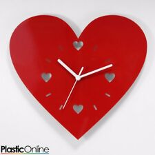 Love Heart Wall Clock Children's Bedroom Mother's Day Gift Idea