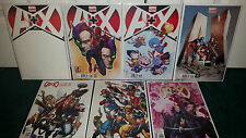 A+X #001 #1-3 Variant Cover Lot Blank Babies 50th Deodato #2 #3 Mcguinness +