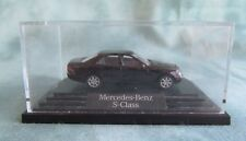 Wiking Mercedes-Benz S- Class Model  Car with Case