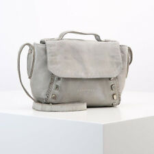 Liebeskind Berlin Saitama Leather Across Body Bag, Hyena Grey