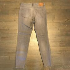 J.Crew The Lookout High Rise Skinny Stretch Denim Jeans Gray Woman's Size 31