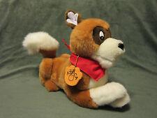 90's Douglas Co. For Nestle Company & ASPCA Brown/Tan & White Plush Puppy Dog