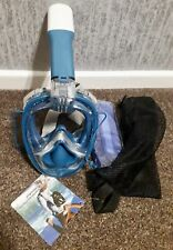 New 2nd Generation Full Face Snorkel Mask with Go-Pro Camera Mount
