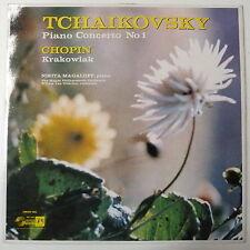 vinyl NIKITA MAGALOFF - otterloo TCHAIKOVSKY concerto 1 / chopin krakowiak