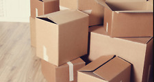 Cardboard Box Boxes Moving Shipping Packing Storage Mail Multiple Sizes Pack Lot