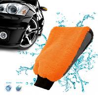 Glove Microfiber Polishing Shampoo Duster Wash Washing Cleaning Car Care Mitt