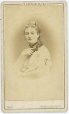 CDV circa 1870. Méry Laurent, demi-mondaine, actrice, muse, salonnière. Paris.