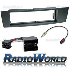 BMW 3 Series E90 E91 E92 E92 Stereo Radio Fitting Kit Fascia Adapter Single Din