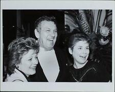Patty Duke, David Gerber, Margie Peters ORIGINAL PHOTO HOLLYWOOD Candid