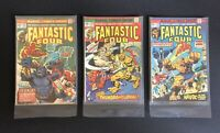 Fantastic Four #145 (Apr 1974, Marvel) PLUS 151 PLUS 159