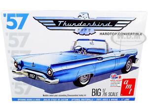 SKILL 3 MODEL KIT 1957 FORD THUNDERBIRD CONVERTIBLE 2-IN-1 KIT 1/16 AMT AMT1206