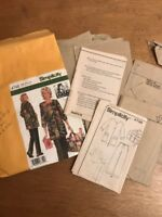 Simplicity 4746 Misses Patty Reed Hobby Coat Pants Bag Pattern Size AA XS S M