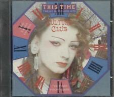 Culture Club/Boy George - This Time The First 4 Years Cd Eccellente