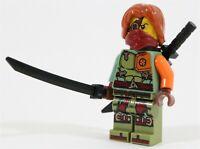 LEGO NINJAGO SHADOW OF RONIN MINIFIGURE NINJA & KATANA SWORDS - NEW GENUINE
