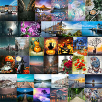 Street Scene DIY Digital Painting By Numbers Wall Oil Canvas Picture Craft Decor