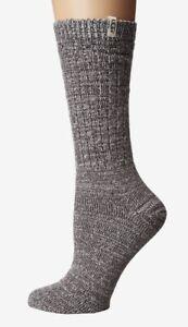 Brand New Women's UGG Rib Knit Slouchy Crew Socks One Size $19.50 Value